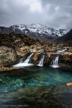Fairy Pools, Isle Of Skye, Scotland - I have so many freaking fairy pool pictures. <3