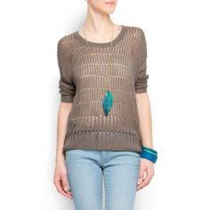 Mango Women`s Knit Jumper
