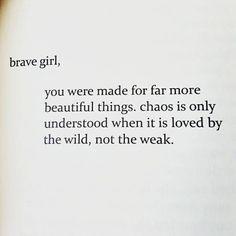 Brave girl...0