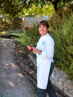 Fresh Herbs grown on the path to The Tuscan Sun Cooking School at the #Ilfalconiere by Chef  @Silvia Baracchi