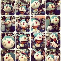 Doraemon Hi @chung_c_c  special thanks to @albanymok#us #fds #like #followme #instagood #iger #igaddict #hkig #crazy #cute #doraemon #hi #delighted #girls #sis - @eliamkwann- #webstagram