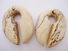 Oval Tamarind Wood Ear Weights (7/8 inch)