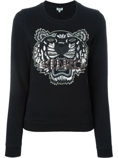 Shop Kenzo 'Tiger' embellished sweatshirt in Gschwantler from the world's best independent boutiques at farfetch.com. Shop 400 boutiques at one address.