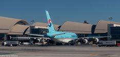 https://flic.kr/p/Eo5JJk | Korean Air Lines, HL 7614, 2011 Airbus A380-861, MSN 068 | Taken Delta Air Lines, Inc. Flight 2338, Boston to Los Angeles, 2000 Boeing B737-832 WL, N3734B, MSN 30776, LN 689, FN 3734.