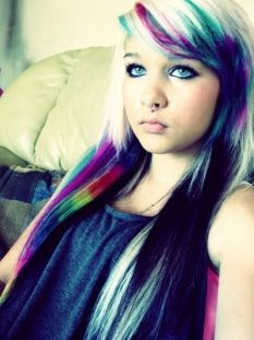 Unique Hair Color..Ambrehhh