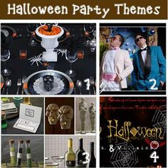 halloween party themes - ghoulish glam, mad scientist