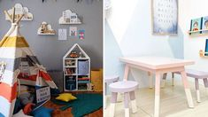 7 Stores to Shop for Kids and Child-Sized Furniture (Beds, Chairs and Tables, and More) Condo Interior Design, Condo Design, Interior Decorating, Small Condo Decorating, Apartments Decorating, Condominium Interior, Whimsical Bedroom, Condo Living, Living Rooms