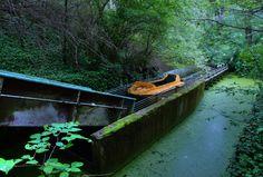 Haunting Photos Of An Abandoned German Amusement Park