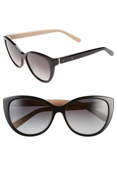 Bobbi Brown 'The Marylins' 56mm Cat Eye Sunglasses available at #Nordstrom