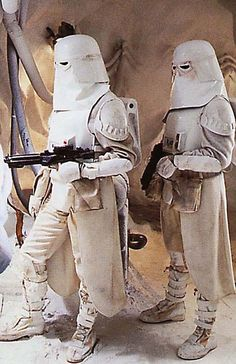 Imperial Snowtroopers from Star Wars The Empire Strikes Back
