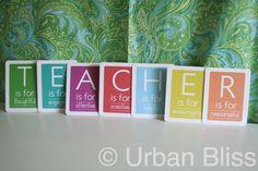 Teacher Appreciation gift craft-ideas