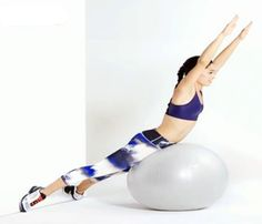 Full-Body Workout: Stability Ball Workout | Divine Caroline #divinecaroline #workout #fitness #healthy