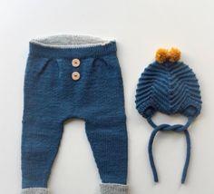 baby strik bukser