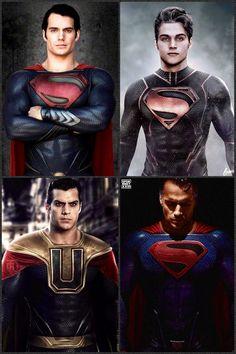DC Superman, Superboy, Ultraman & Superman of Earth 2