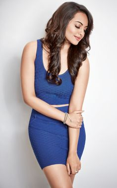 Sonakshi Sinha on the April 2014 cover of WH