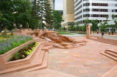 Lawrence Halprin Legacy: Skyline Park, Denver, CO.  Photo by Thomas Balsley Associates