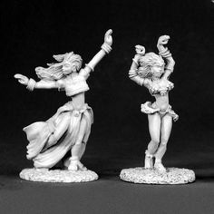 Miniature-Heroes is your online shop for Miniatures and Accessories. Fantasy, Sci-fi, Steampunk and Superhero suitable for D&D style Role Playing Games. Reaper Miniatures, Fantasy Miniatures, Scantily Clad, Miniature Figurines, Metal Models, Fantasy Warrior, Girl Dancing, Medieval Fantasy, Barbarian