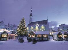 Christmas Market, Tallinn, Estonia via