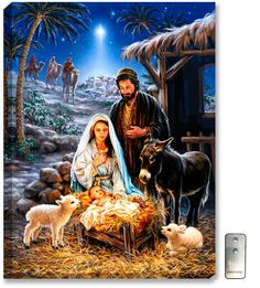 Remember the true meaning of Christmas with this beautiful puzzle. This gorgeous piece of artwork depicting the birth of Jesus and the coming of the 3 wise men is a truly awe-inspiring puzzle. Springbok Savior is Born Jigsaw Puzzle Christmas Nativity Scene, Christmas Scenes, Christmas Pictures, Christmas Crafts, Nativity Scenes, Nativity Scene Pictures, Xmas, The Nativity, Merry Christmas Quotes