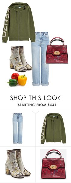 """you know...vegetables"" by amber-xx12 ❤ liked on Polyvore featuring Alexander McQueen, Kenzo, Maison Margiela and Dolce&Gabbana"