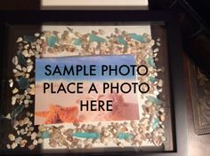 New on my Etsy! $25.00 Put your own picture in this 3D Shadow Box Picture Frame!