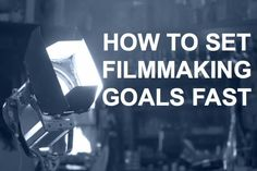 In this filmmaking article, we provide tips for gaining clarity over your filmma. - In this filmmaking article, we provide tips for gaining clarity over your filmmaking goals and then - Documentary Filmmaking, Film Tips, Film School, Travel Humor, Fantasy Movies, Video Film, Film Director, Screenwriting, Video Editing