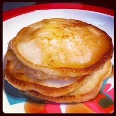 Mini banana pancakes