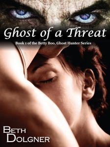 REVIEW by Alicia:  Ghost Of A Threat (Betty Boo #1) by Beth Dolgner (@BethDolgner , @mamaxsix)
