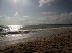 horizonte - Praia do Cabo Branco - João Pessoa/PB - Foto: Clarissa Moura.