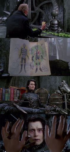 10 Deeply Emotional Movies That Will Change You. Scenes from the movie Edward Scissorhands. Beetlejuice, Eduardo Scissorhands, Emotional Movies, Tim Burton Characters, Gangster, Johnny Depp Movies, Johny Depp, I Love Cinema, Light Film