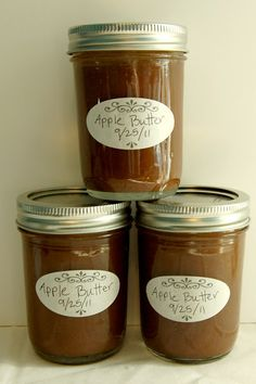 Scattered Thoughts of a Crafty Mom: Homemade Apple Butter