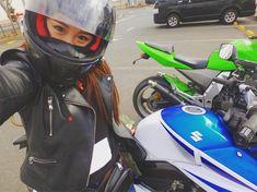いいね!152件、コメント23件 ― @yui_tas0のInstagramアカウント: 「今日わバイク走らせてまーす♡ 久々運転したわー♡ #バイク女子#バイク#bike#GSR250#suzuki #Z1000#Kawasaki #ガールズバイカー」