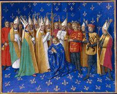 Hugues DeBourgogne | le duc des francs d aquitaine et de bourgogne est sacre roi de france ...