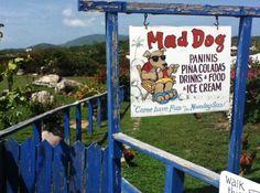 Mad Dog's Restaurant at The Baths #BVI