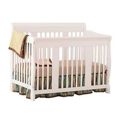 Stork Craft Tuscany Fixed Side 4-in-1 Convertible Crib
