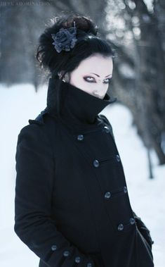 Military Industrial #Goth #winter #Victorian