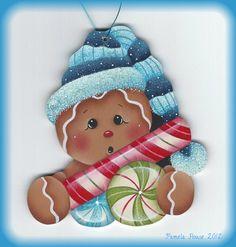 Winter Sweets Gingerbread Ornament E-Pattern por GingerbreadCuties