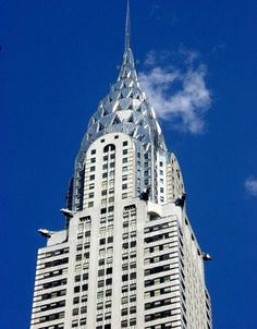 The Art Deco and Mordernism appears in 1913-1950 century Art. It's purpose in architecture is to design and decorate the building so that it fulfills to its purpose.The Art Deco Spike on top of the Chrysler Building in Manhattan, NYC (shown in the image) is very angular, geometric and machined. In 1925, the International Exposition of Modern Industrial and Decorative Arts in Paris, many architectures met for the World's Fair. These architectures became founders of the Art Deco Movement.