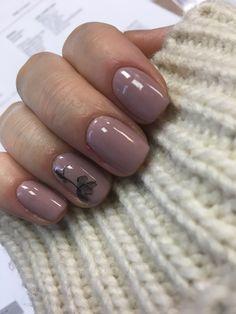 Simple design #nails #nail #design Orange Nail Designs, Colorful Nail Designs, Simple Nail Designs, Cute Nails, Pretty Nails, Fingernail Designs, Nail Colors, Colours, Simple Nails