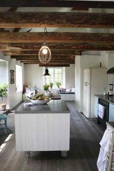 Beach House In Earthy Tones