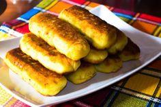 Нежное картофельное тесто с хрустящей корочкой, а внутри сочная начинка: Картофельные рулеты с мясом