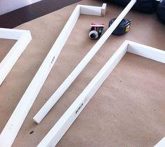 Trick to making Ikea kitchen cabinets look custom... — under cabinet light -Lindsay Stephenson
