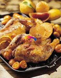 Cosce di pollo agli agrumi | Cucinare Meglio  #CucinareMeglio @Cucinare Meglio