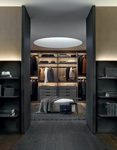 Explore the best of luxury closet design in a selection curated by Boca do Lobo to inspire interior designers looking to finish their projects. Discover unique walk-in closet setups by the best furniture makers out there Walk In Closet Design, Wardrobe Design, Closet Designs, Estilo Interior, Luxury Interior, Home Interior Design, French Interior, Luxury Decor, Luxury Gifts