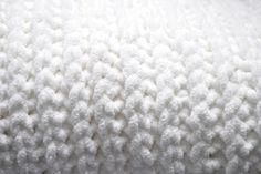 Faux Knit Crochet Baby Blanket, free pattern