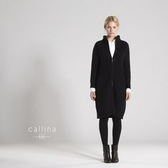 Julissa Cashmere Coat -Designed for winter to stay warm and chic. Our thick cashmere coat with a double zipper gives you flexible closing options.