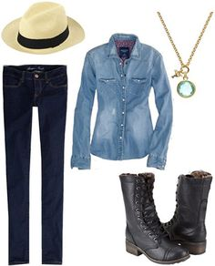 Skinny body type outfit 1