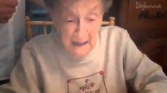 151216 Grandma Birthday's - Dentures Dislodged When Blowing Out The Cand...