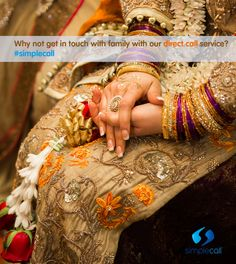 Missing a Desi #wedding of your family or friends in this festive season? #simplecall