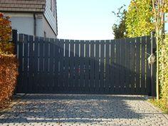 Hardhouten poorten – houten poort op maat uit Brabant - Solid Wood Projects